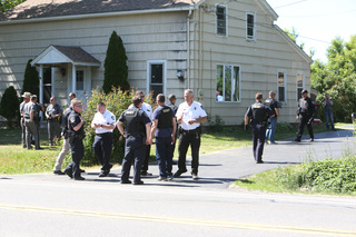 Man arrested after chase through Niagara Co.