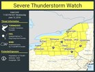 Severe Thunderstorm Watch for all of WNY