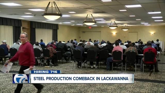 republic steel hiring at its lackawanna plant