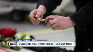 Safety equipment not available for fire crews