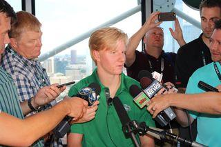 Buffalo feels like home for Rasmus Dahlin