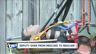 Zoar Valley rescued becomes rescuer