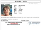 Police locate missing boy