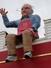 The 'Vidler on the Roof' gets new glasses