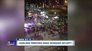 Tight security for July 4th celebrations