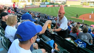 Conehead celebrates 40 years with the Bisons