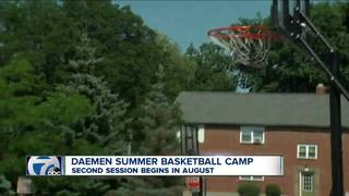 Daemen's Mike MacDonald holds annual hoops camp