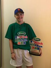 Torgerson wins Pitch, Hit & Run National Finals