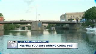 Challenges of policing Canal Fest