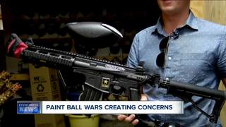 Paintball wars creating concern in Buffalo