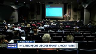NYS, Neighbors discuss higher cancer rates