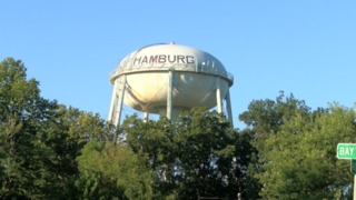 Voting for a new water tower design in Hamburg