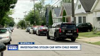 Car thief gets unexpected surprise