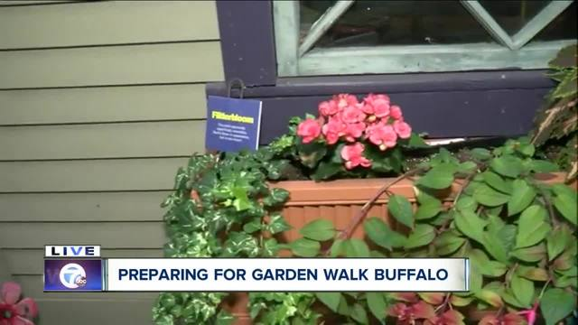 How to get around America\'s largest Garden Walk - WKBW.com Buffalo, NY