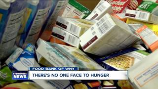 Food Bank of WNY: There's no one face to hunger