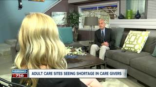 Crisis in adult care giver industry