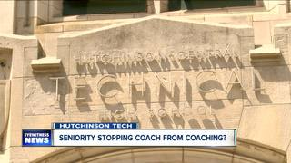 Seniority policy stopping a coach from coaching