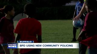 Police Hold Soccer Clinics with Buffalo Youth