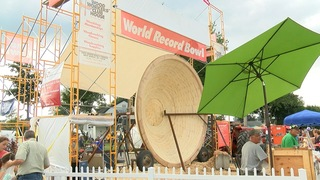 World Record Bowl at Erie County Fair
