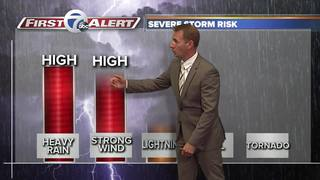 1-2 Weather punch hits WNY Tuesday