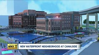 New waterfront neighborhood on Canalside