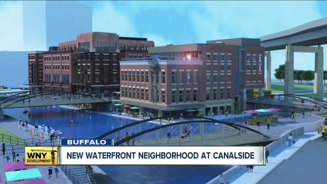 new  21 million waterfront neighborhood on buffalo u0026 39 s