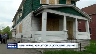 Buffalo man guilty of setting Lackawanna fire