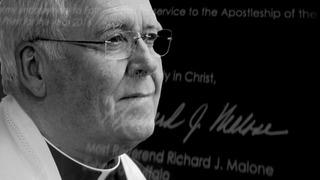 Bishop Malone to publicly address media Monday
