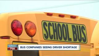 How companies are handling a bus driver shortage