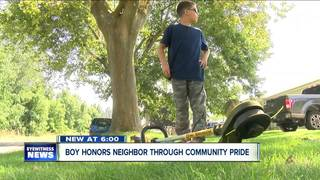 Niagara Falls boy carries on legacy of neighbor