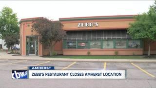 Zebb's restaurant closes its Northtowns location