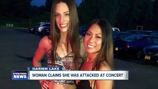 Woman says she was jumped, lost tooth at concert