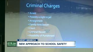 DA talks to students about school threats