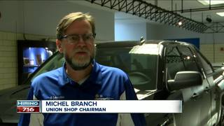 The GM plant in Lockport is looking to hire