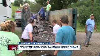 Western New York volunteers taking hope to NC