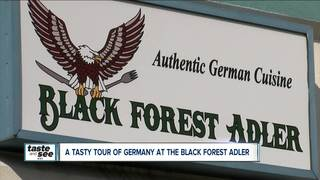 Black Forest Adler serving homemade German food