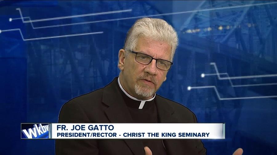 fr  joe gatto  pres  of buffalo diocese seminary  placed