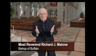 Bishop Malone edited out of abuse training video