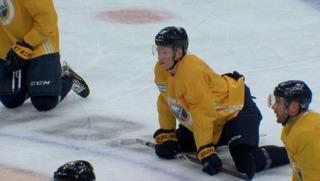 Watch: Dahlin & Eichel ready for season opener