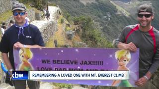 Family to climb Mt. Everest to honor loved one