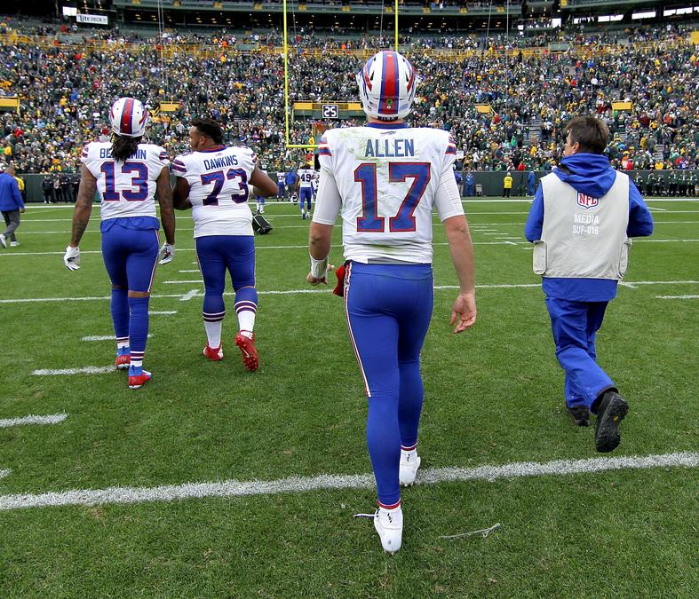 Buffalo Bills declare Allen