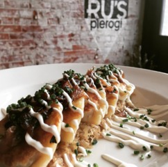 Celebrating National Pierogi Day at Ru's Pierogi