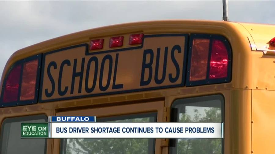 Transportation woes continue as Buffalo deals with school bus driver shortage - ...