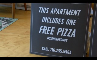 Need an apartment, get a pizza