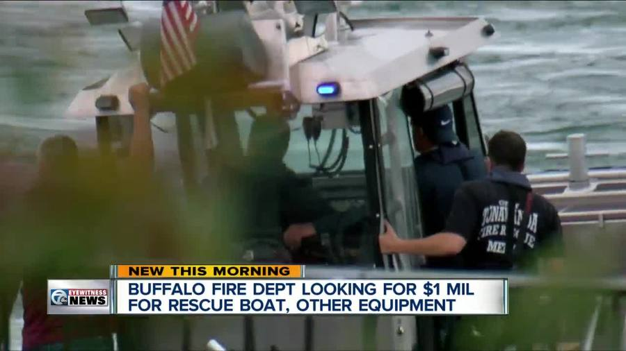 I-TEAM: Buffalo Fire Department looking to purchase rescue boat - WKBW.com Buffa...