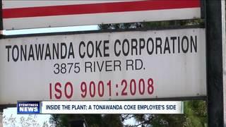 Inside the Tonawanda Coke plant