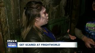 Getting ready for scares at Frightworld