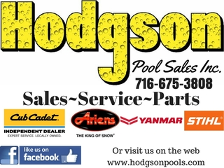 Hodgson Pools Snowblower Watch & Win Sweepstakes