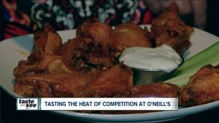 O'Neill's offers a spicy chicken wing challenge