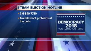 I-Team staffing line for Election Day problems